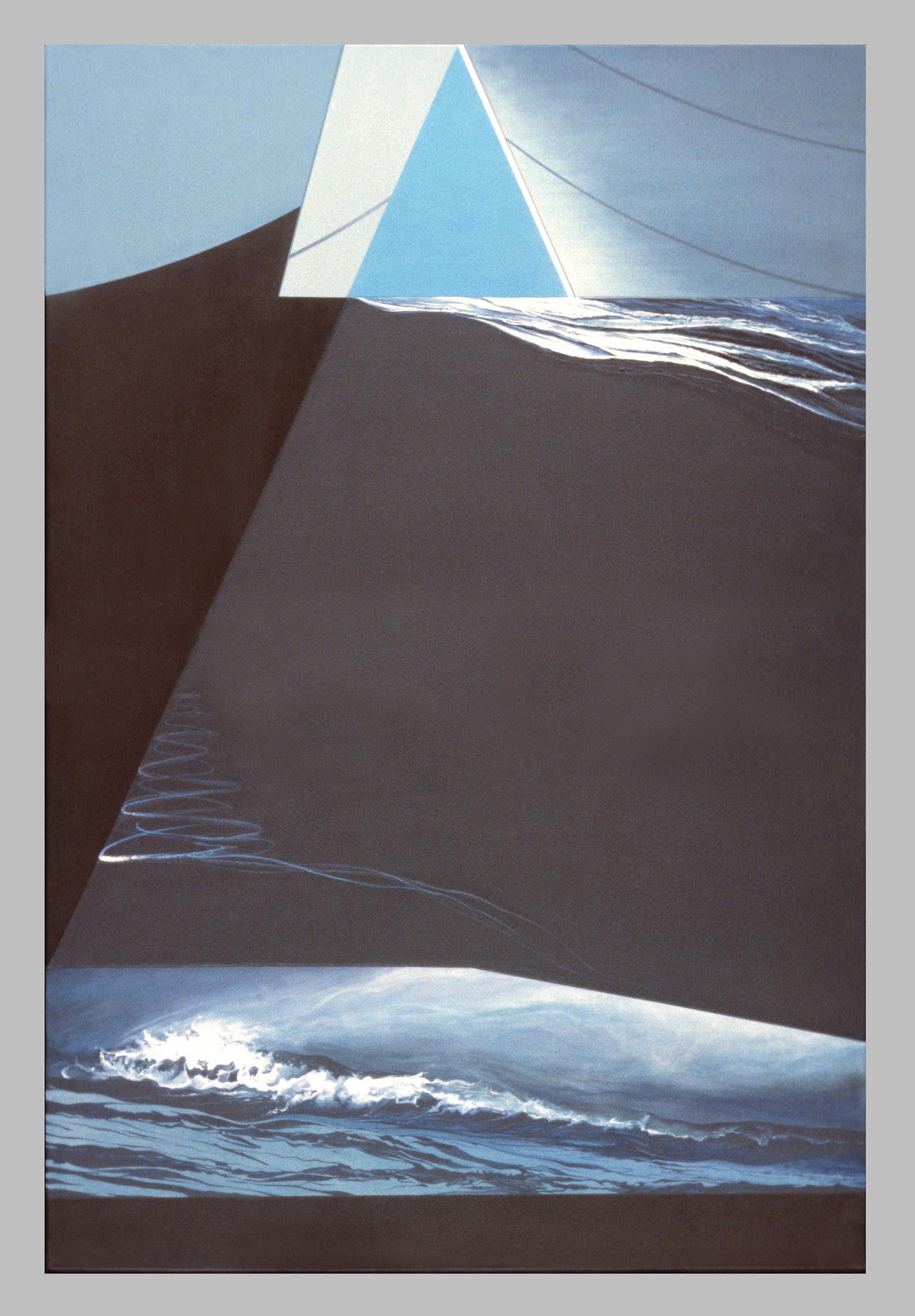 Étoile, 1984. Acrylique sur toile, 122 x 183 cm.
